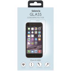 Selencia Displayschutz aus gehärtetem Glas für iPhone SE (2020)