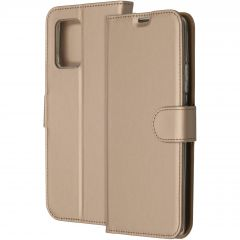 Accezz Wallet TPU Booklet Gold für das Samsung Galaxy S10 Lite