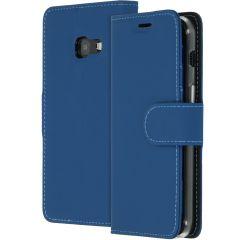 Accezz Blaues Wallet TPU Booklet für das Samsung Galaxy A3 (2017)