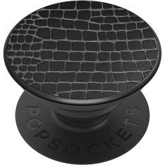 PopSockets Luxe PopGrip - Embossed Metal Croc