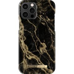 ideal of Sweden Fashion Back Case iPhone 12 Pro Max - Golden Smoke Marble