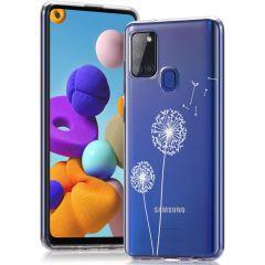 iMoshion Design Hülle Samsung Galaxy A21s - Pusteblume - Weiß
