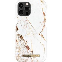ideal of Sweden Fashion Back Case iPhone 12 Pro Max - Carrara Gold