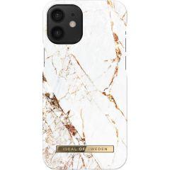 ideal of Sweden Fashion Back Case iPhone 12 Mini - Carrara Gold