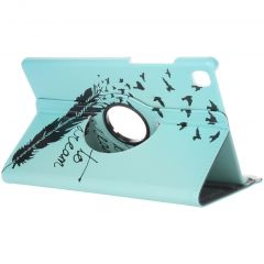 360° drehbare Design Tablet Hülle Galaxy Tab A7
