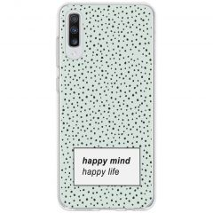 Design Silikonhülle für das Samsung Galaxy A70