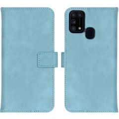 iMoshion Luxuriöse Buchtyp-Hülle Samsung Galaxy M31 - Hellblau