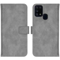 iMoshion Luxuriöse Buchtyp-Hülle Samsung Galaxy M31 - Grau