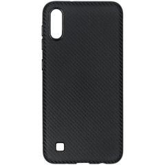 Carbon-Hülle Schwarz für das Samsung Galaxy A10