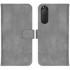 iMoshion Luxuriöse Buchtyp-Hülle Sony Xperia 5 II - Grau