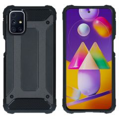iMoshion Rugged Xtreme Case Samsung Galaxy M31s - Schwarz