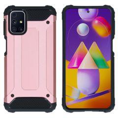 iMoshion Rugged Xtreme Case Samsung Galaxy M31s - Roségold