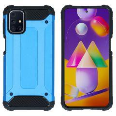 iMoshion Rugged Xtreme Case Samsung Galaxy M31s - Hellblau