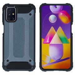 iMoshion Rugged Xtreme Case Samsung Galaxy M31s - Dunkelblau