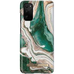 ideal of Sweden Golden Jade Marble Fashion Back Case Samsung Galaxy S20