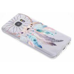Traumfänger Watercolor TPU Hülle für Samsung Galaxy S7