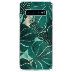 Frühlings-Design Silikonhülle für Samsung Galaxy S10 Plus
