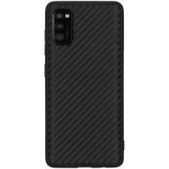 Carbon-Hülle Schwarz für das Samsung Galaxy A41