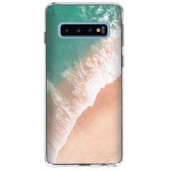Frühlings-Design Silikonhülle für das Samsung Galaxy S10