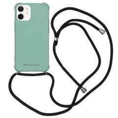 iMoshion Color Backcover mit Band iPhone 12 Mini - Grün