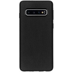Carbon-Hülle Schwarz für das Samsung Galaxy S10