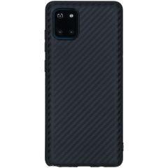 Carbon-Hülle Schwarz für das Samsung Galaxy Note 10 Lite
