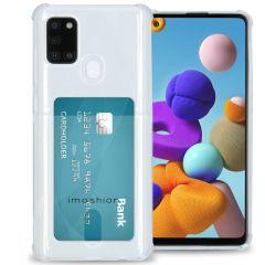 iMoshion Soft Case Back Cover mit Kartenfach Galaxy A21s