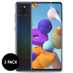 iMoshion Displayschutz Folie 3er-Pack Samsung Galaxy A21s