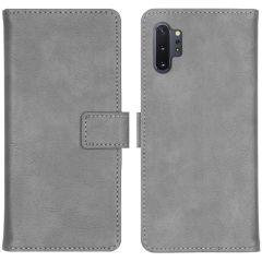 iMoshion Luxus Booktype Hülle Grau für Samsung Galaxy Note 10 Plus