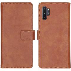 iMoshion Luxus Booktype Hülle Braun für Samsung Galaxy Note 10 Plus