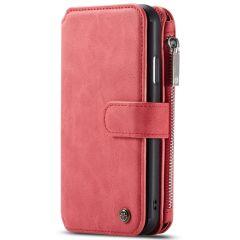 CaseMe Luxuriöse 2-in-1 Portemonnaie-Hülle Rot für das iPhone 11