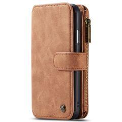 CaseMe Luxuriöse 2-in-1 Portemonnaie-Hülle Braun für das iPhone 11