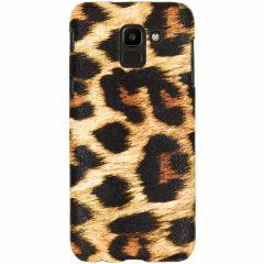 Leopard Design Hardcase-Hülle für das Samsung Galaxy J6