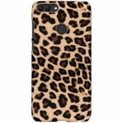 Leopard Design Hardcase-Hülle Braun für das Huawei P Smart