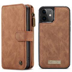CaseMe Luxuriöse 2-in-1 Portemonnaie-Hülle iPhone 12 Mini