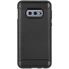 Brushed TPU Case Schwarz für das Samsung Galaxy S10e