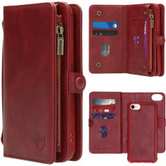 iMoshion 2-1 Wallet Booktype Rot iPhone SE (2020) / 8 / 7 / 6(s)