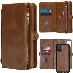 iMoshion 2-1 Wallet Booktype Braun für das Samsung Galaxy A71