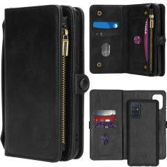iMoshion 2-1 Wallet Booktype Schwarz für das Samsung Galaxy A71