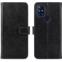 iMoshion Luxuriöse Buchtyp-Hülle OnePlus Nord N10 5G - Schwarz