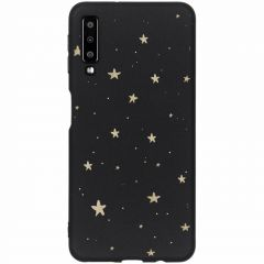 Winter-Design Silikonhülle für das Samsung Galaxy A7 (2018)