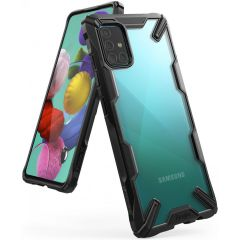 Ringke Fusion X Case Schwarz für das Samsung Galaxy A51