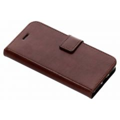 Valenta Booklet Leather Braun iPhone SE (2020) / 8 / 7 / 6(s)