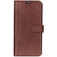 Valenta Booklet Leather Braun für das Samsung Galaxy S10 Plus