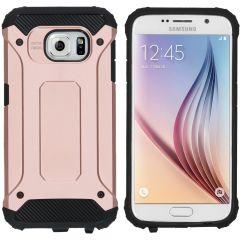 iMoshion Rugged Xtreme Case Roségold für das Samsung Galaxy S6