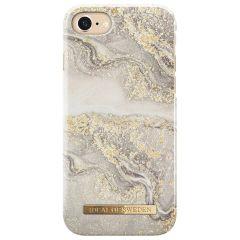 ideal of Sweden Sparkle Greige Marble Fashion Back Case iPhone 8 / 7 / 6 /6s