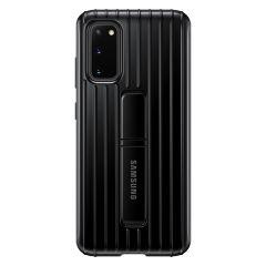 Samsung Protect Standing Cover Schwarz für das Galaxy S20