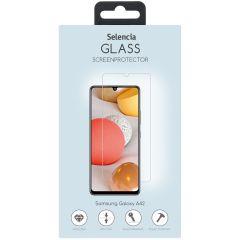 Selencia Displayschutz aus gehärtetem Glas für Samsung Galaxy A42