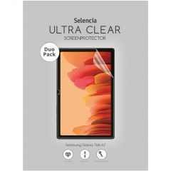 Selencia Duo Pack Screenprotector Samsung Galaxy Tab A7