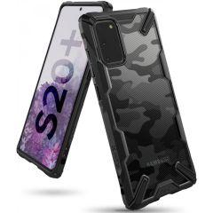 Ringke Fusion X Design Backcover Schwarz Samsung Galaxy S20 Plus
